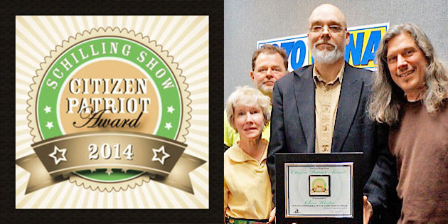 Schilling Show Bestows 3rd Annual Citizen Patriot Award