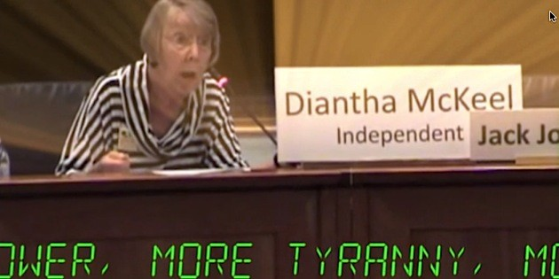 More, More, More: Diantha McKeel's insatiable appetite for higher taxes (video)