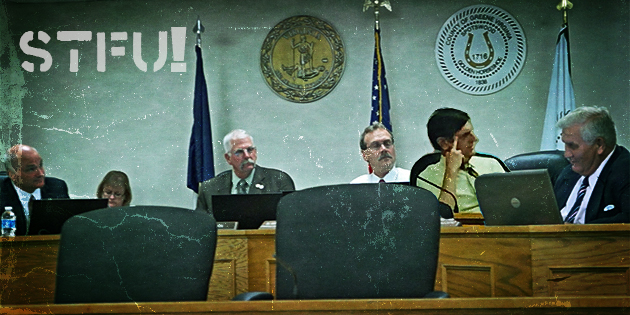 STFU: Greene County Supervisors neuter public meeting comment