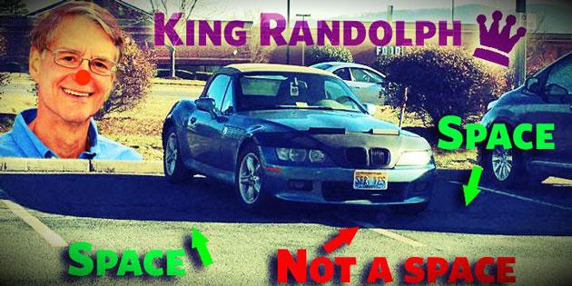 King Richard: Albemarle Supervisor Rick Randolph's Really Bad Parking Job