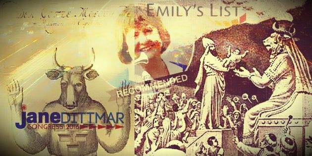 "Pro-death: ""Catholic"" Jane Dittmar endorsed by pro-abortion groups"