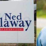 Scofflaw: Democrat Ned Gallaway's illegal campaign signs