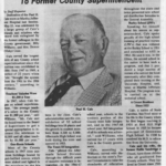 Cale newspaper clipping