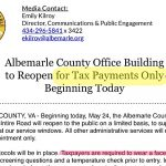 Albemarle_County_Office_Building_to_Reopen_for_Tax_Payments_Only_-_Beginning_Today